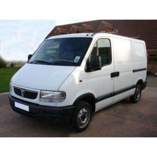 Vauxhall Movano Van Mats