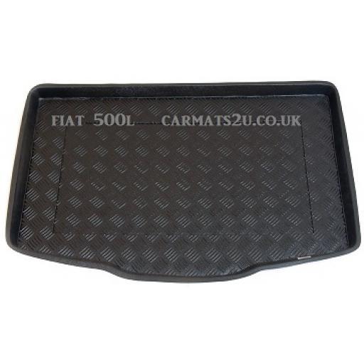 Fiat 500L Boot Liner 2012 Onwards