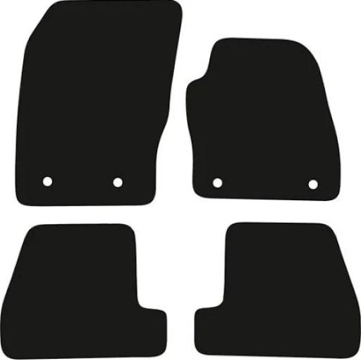 Smart Fortwo Coupe Car Mats 2015 Onwards