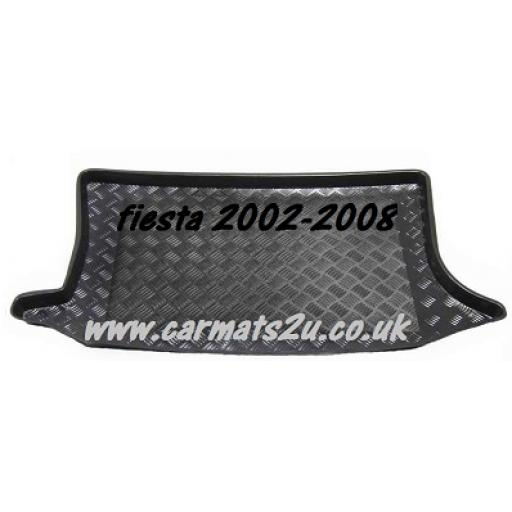 Focus Fiesta Boot Liner 2002-2008