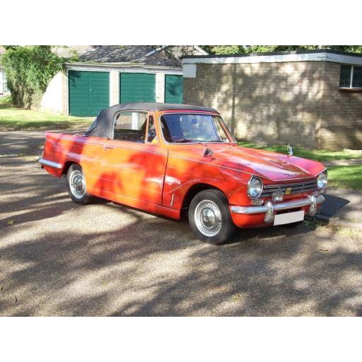 Triumph Herald Car Mats