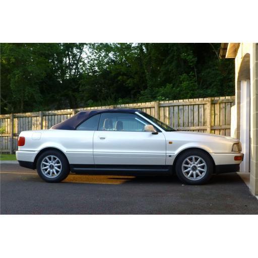 Audi A4 Cabriolet Mats 2001-2007