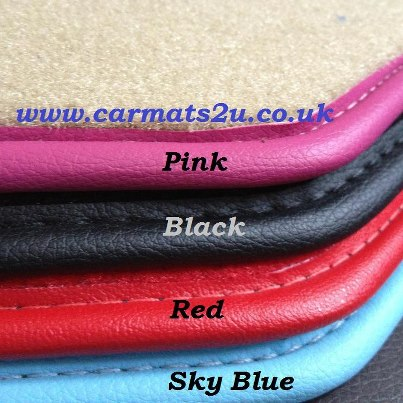 custom car mats examples colours