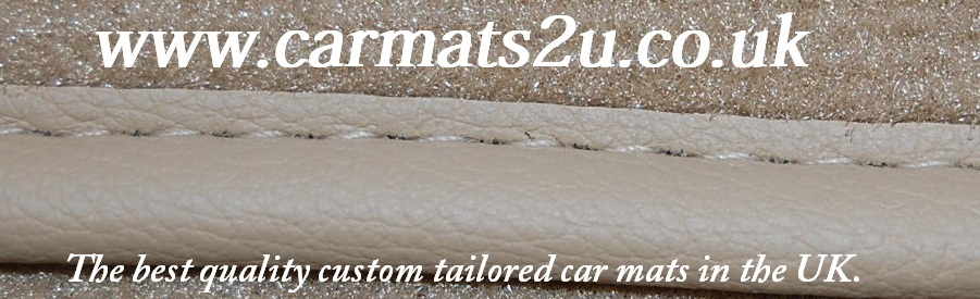 car mats leather edged