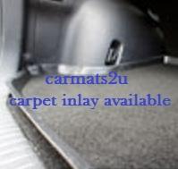 boot liner carpet insert