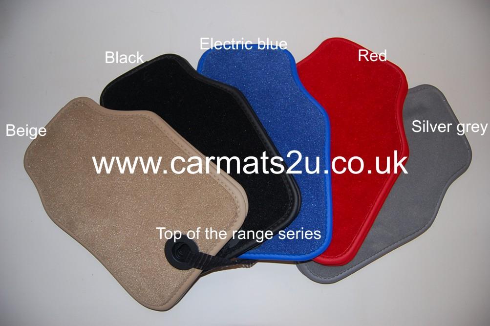 CIVIC mats COLOUR CHOICES